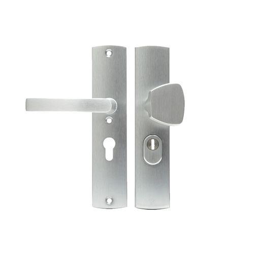 AXA veiligheidsbeslag Curve aluminium knop 55mm