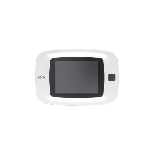 Axa digitale deurspion silverline 3,2 inch tft