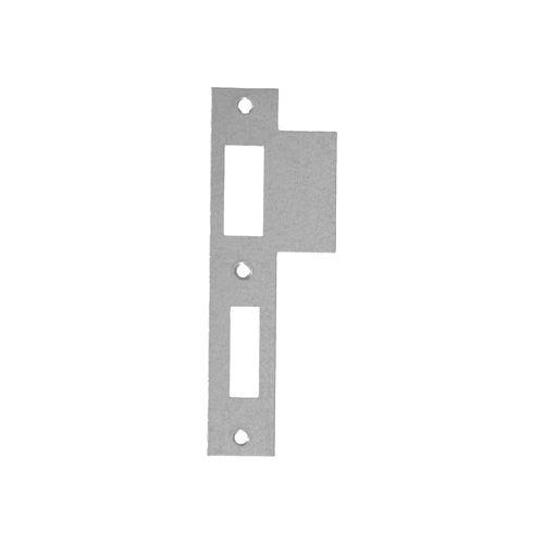 Sencys sluitplaat dagnachtslot voor binnendeurloopslot 127mm 24mm RVS