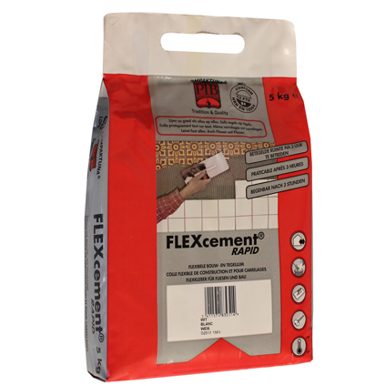Colle flexible PTB gris 5 kg