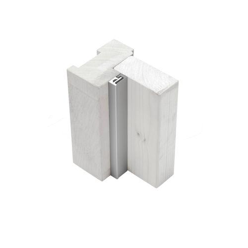 AXA veiligheidsdeurstrip M2 binnendraaiend aluminium