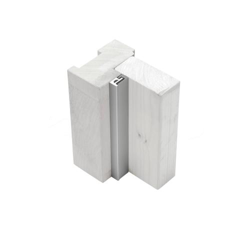 Axa veiligheids deurstrip M2 215cm aluminium SKG*