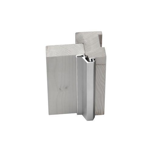AXA veiligheidsdeurstrip aluminium M3 buitendraaiend 5-9mm