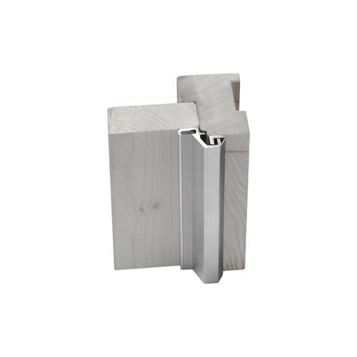 Axa veiligheids deurstrip M3 buitendeur 215cm 5-9mm aluminium SKG*
