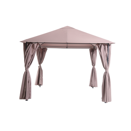 Central Park partytent Panama taupe 3x3m