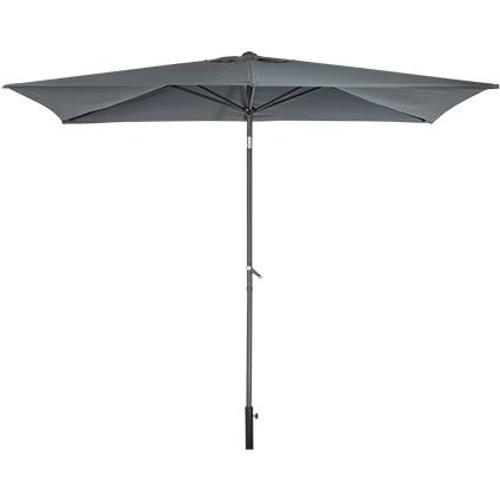 Central Park parasol 'Cielo' grijs 2,5m
