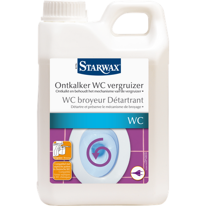Détartrant broyeur WC Starwax 2 L