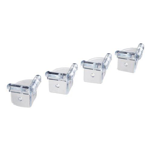SecuCare des pièces de protection d'angle transparent 4