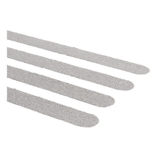 SecuCare antislip sticker langwerpig 600x19mm grijs 15 stuks