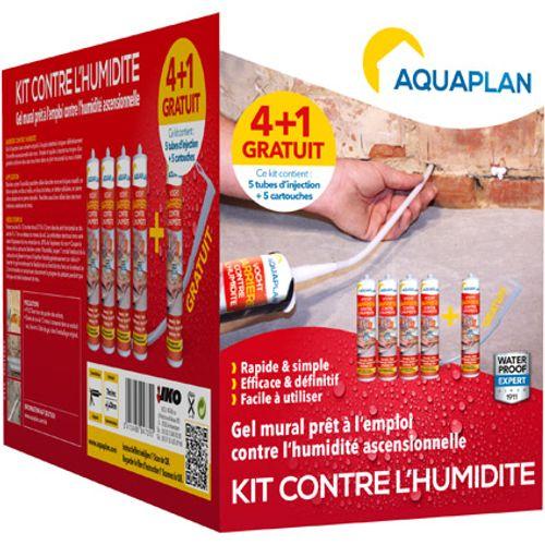 Kit étanchéité Aquaplan 'Barrière contre l'humidité' 310 ml - 5 pcs