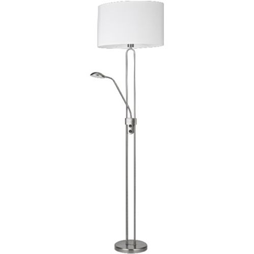Home Sweet Home vloerlamp wit 60 W