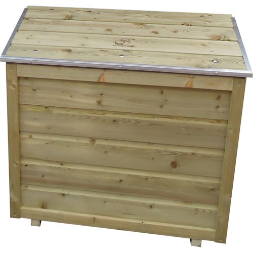 Lutrabox opbergbox voor 2 gasflessen 80x45x70cm