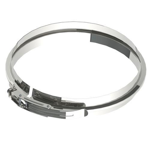 Collier de fixation pour raccord pellet Saninstal inox Ø 125mm