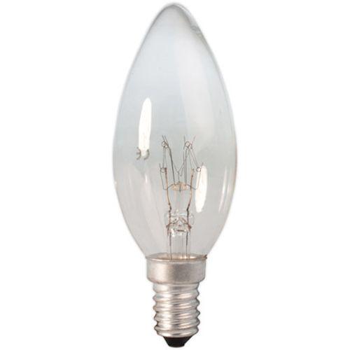 Calex Kaarslamp 240V 10W 55lm E14 helder