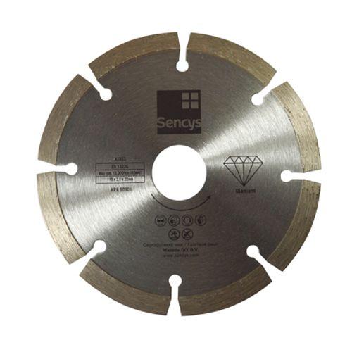 Disque à tronçonner Sencys diamant 115mm