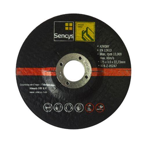 Disque à tronçonner Sencys pour métal 125mm - 2 pièces