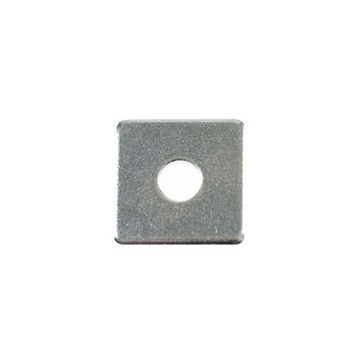 Sluitplaat vierkant m12x40mm 2 stuks