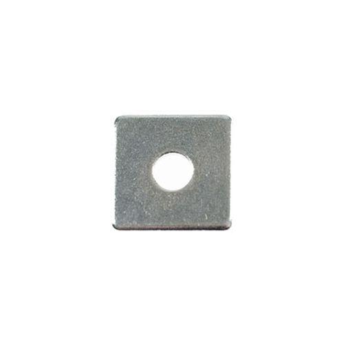 Sluitplaat vierkant m8x30mm 3 stuks