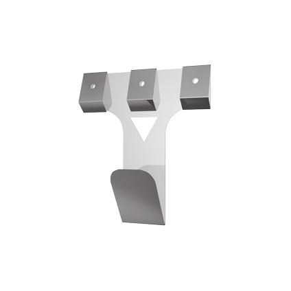 Sencys schilderijhaak vermessingd staal 35 mm - 5 stuks
