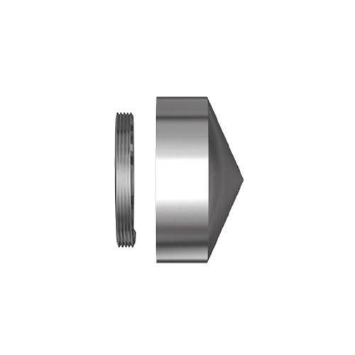 Cache-vis laiton/chrome - 5 pcs