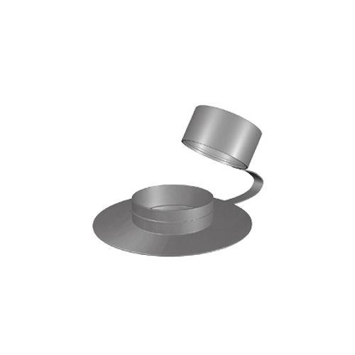 Cache-vis pour tire-fond M7 nylon noir - 8 pièces