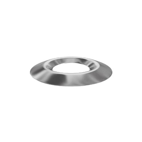 Sencys kraalring vernikkeld staal 4 mm - 50 stuks