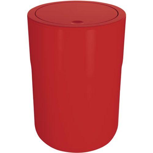 Spirella afvalemmer Cocco rood 5L