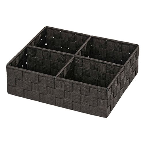 Wenko badorganiser zwart