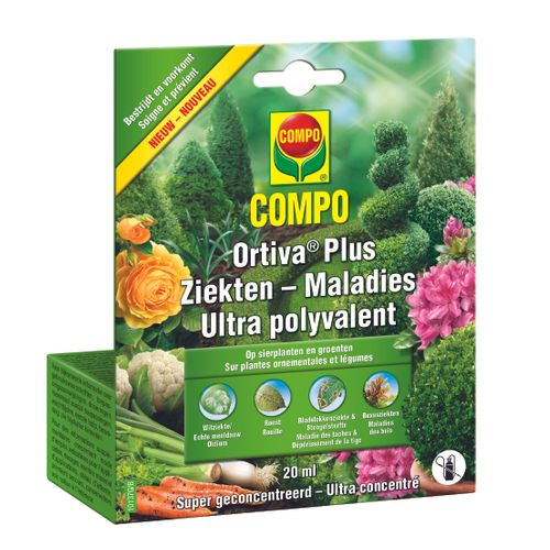 Compo ziektebestrijder ultra polyvalent 'Ortiva Plus' 20 ml