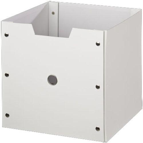 Boîte de rangement Decomode carton blanc 31cm