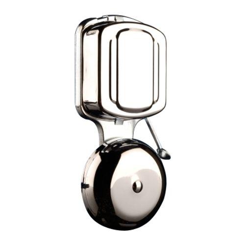 Klassieke deurbel ring chroom