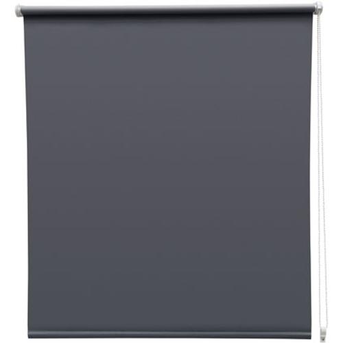 Store enrouleur Intensions 'EasyFix' tamisant gris foncé 110 x 170 cm