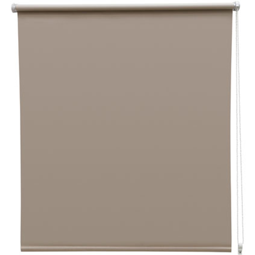Store enrouleur Intensions 'EasyFix' occultant taupe 110 x 170 cm