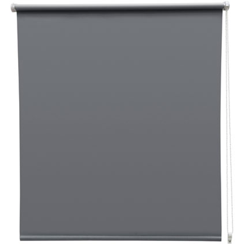 Store enrouleur Intensions 'EasyFix' occultant gris foncé 110 x 170 cm