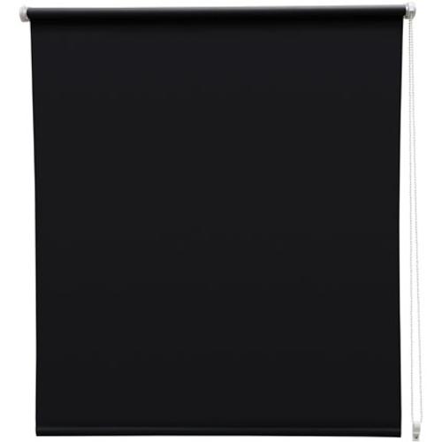 Store enrouleur Intensions 'EasyFix' occultant noir 110 x 170 cm