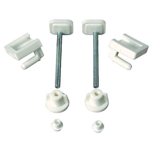 Wirquin bevestigingsset metaal/kunststof wc-bril