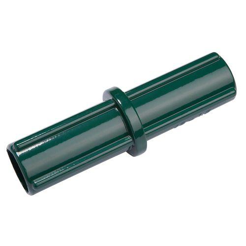 Raccord de lisse tube supérieur noir 42 mm
