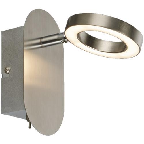 Wofi wandlamp' Monza' 1x5W LED nikkel