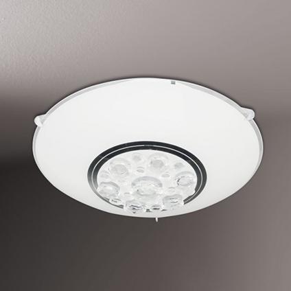 Wofi plafondlamp 'Noa' 1x8W wit LED