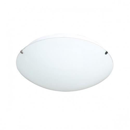 Wofi plafondlamp 'Lorenz' 1x15W nikkel LED
