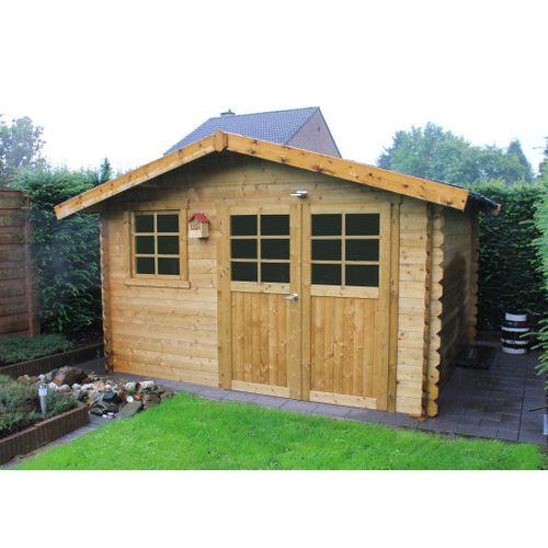 Abri de jardin Solid 'Chimay' bois imprégné 9,18 m²