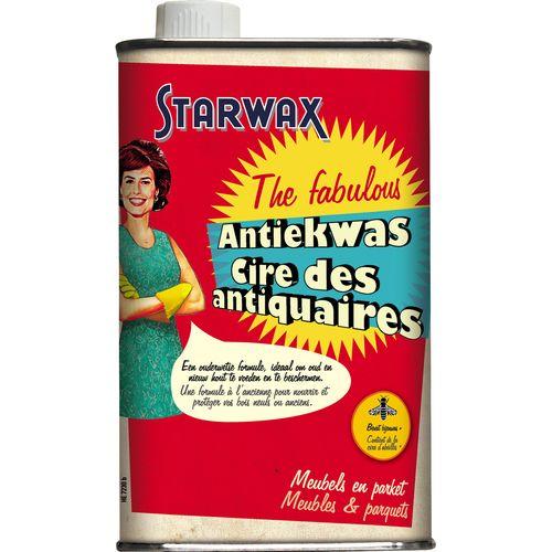 Cire des antiquaires liquide Starwax 'Meubles & Parquets' 500 ml