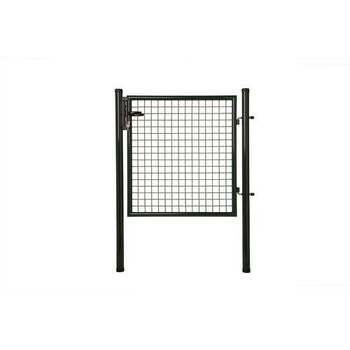 Giardino enkele poort zwart 175 x 100 cm