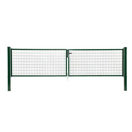 Giardino dubbele poort H 200 x L 2x200cm groen