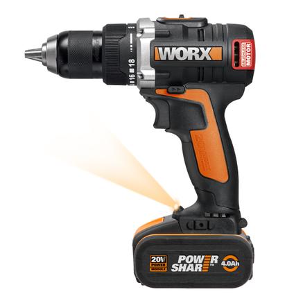 Worx schroefboormachine WX175.1 20V