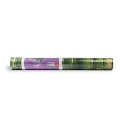 DecoMode papierbehang Bamboe groen