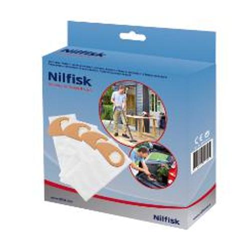 Sac pour aspirateur Nilfisk Buddy II - 4 pièces
