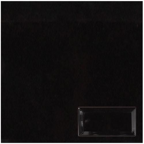 Wandtegel Metro zwart 7,5x15cm