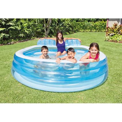 Piscine gonflable Intex Family Lounge 224x216cm
