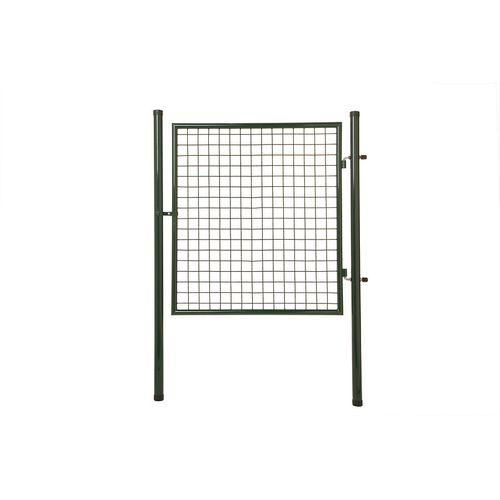 Giardino enkele poort slot niet inbegrepen groen 80 x 100 cm